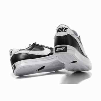 Basket Nike Cuir Noir