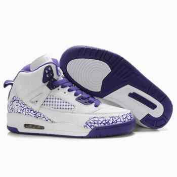 Air Jordan femme blanc violet