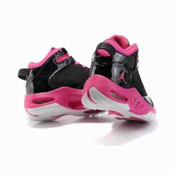 Air Jordan New School noir rose pour femme