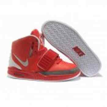 Acheter air yeezy 2 rouge blanc grise moins cher