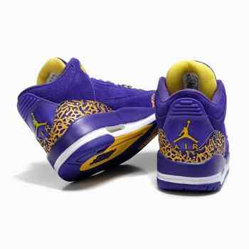Air Jordan 8 Femme Chaussures Noir/Violet magasin